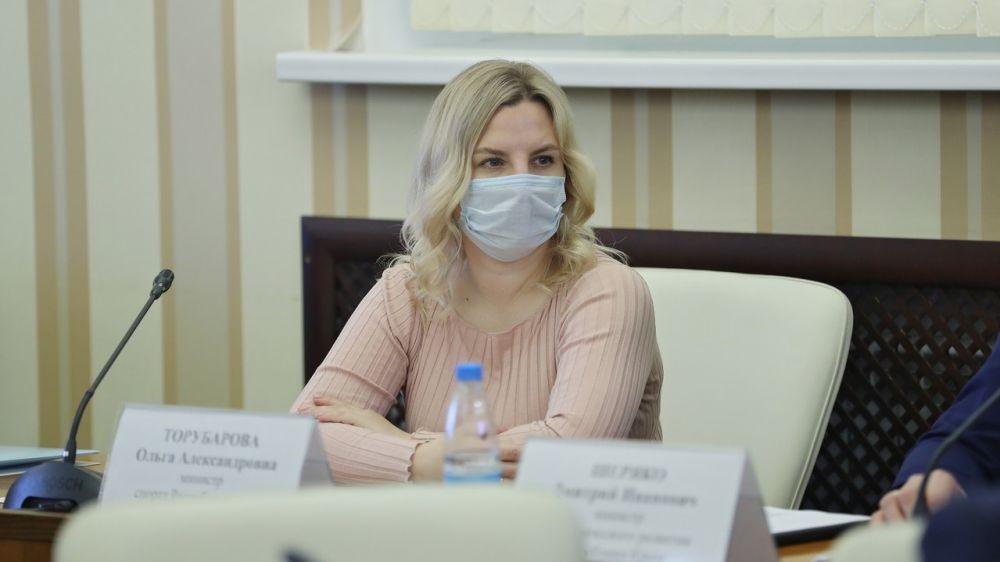 Ольга Торубарова приняла участие во встрече с Крымской лигой активистов совета старшеклассников