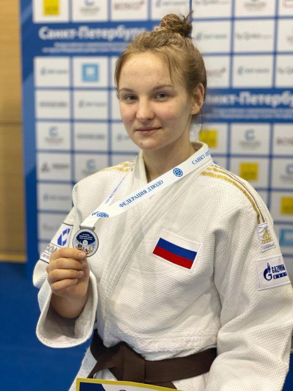 Крымская дзюдоистка выиграла «серебро» в Санкт-Петербурге