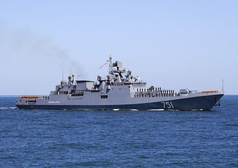 В Крыму на военные учения вышел отряд Черноморского флота