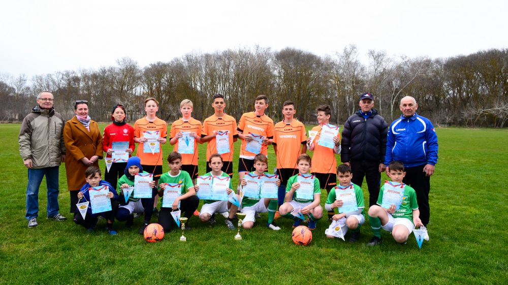 Команда юных футболистов из Черноморского района стала победителем турнира памяти Н.А.Токарева