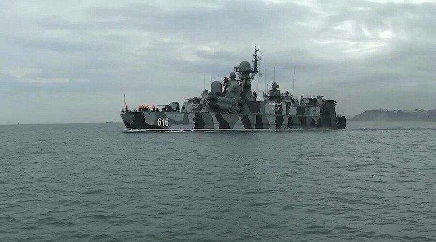 Корабли Черноморского флота вышли в море для проведения артиллерийских стрельб