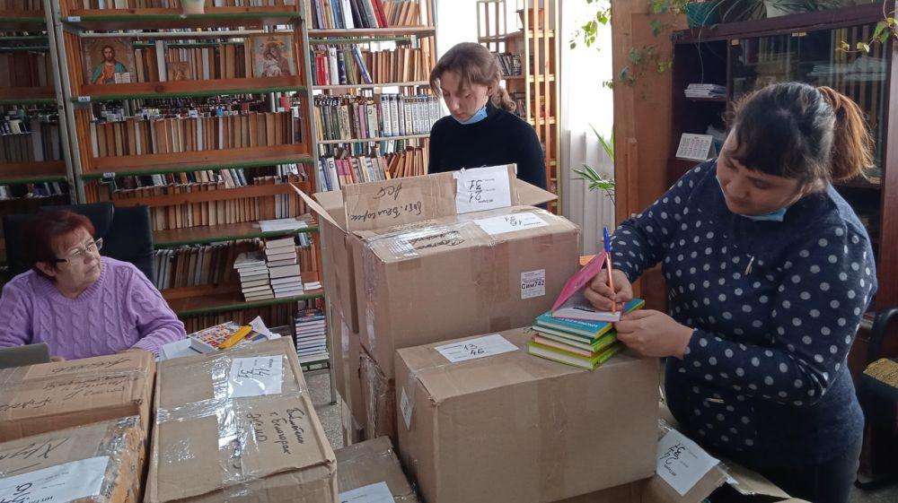 В с. Ароматное Белогорского района продолжается работа по созданию модельной библиотеки