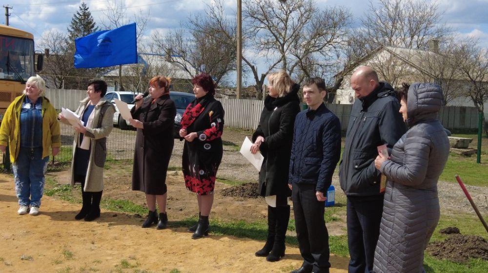 Спорт в села: в Тимошенко открыта еще одна спортплощадка
