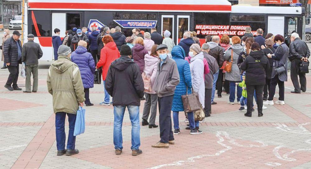 В Крыму полным ходом идёт вакцинация от коронавируса