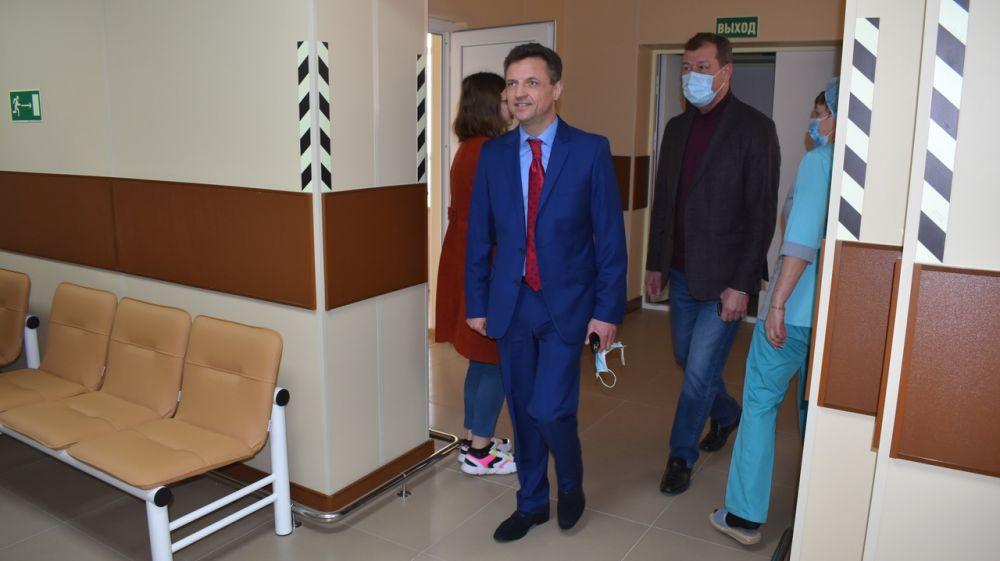 В Евпаторийской городской больнице открыт Центр амбулаторной онкологической помощи