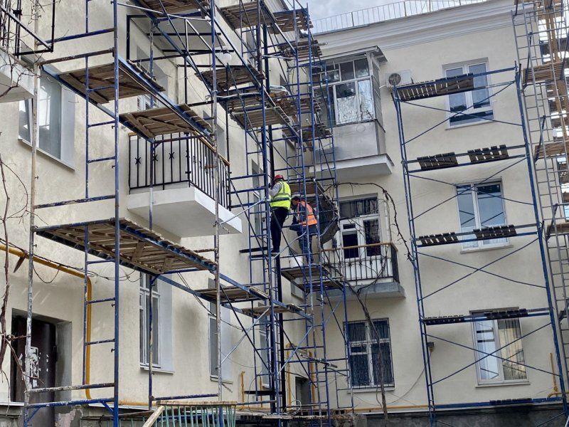 За год в Севастополе отремонтируют фасады 29 жилых домов