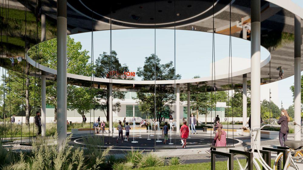 «Сковородка со скамьями под палящим солнцем»: В Симферополе на площади Куйбышева не будет теневого навеса