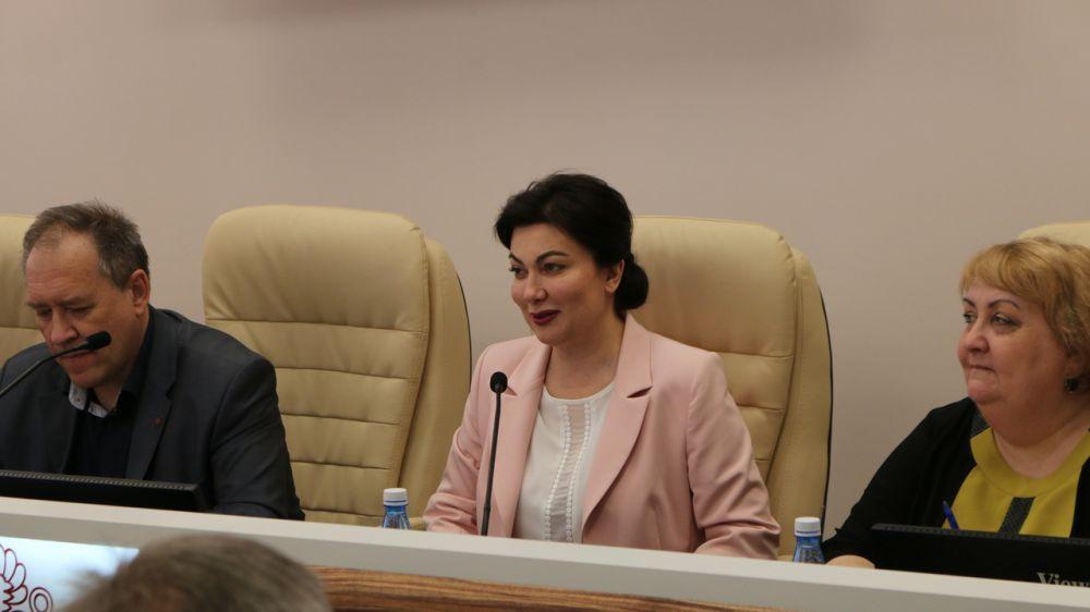 Арина Новосельская открыла на базе республиканского учреждения народного творчества Крыма современный медиацентр