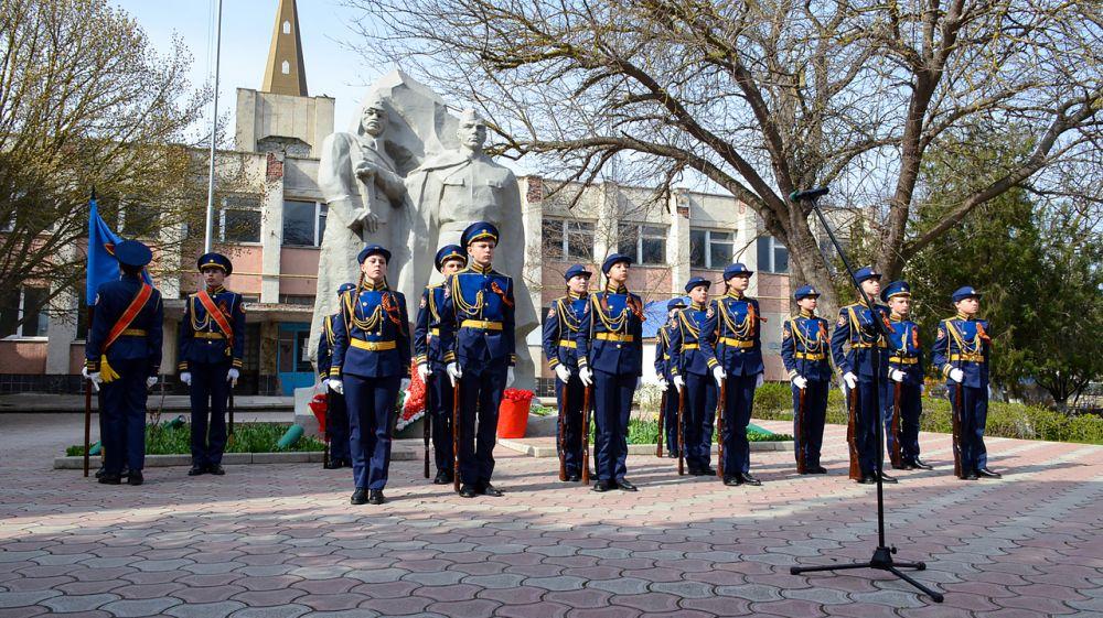 Черноморский район отпраздновал 77-ю годовщину освобождения от немецко-фашистских захватчиков