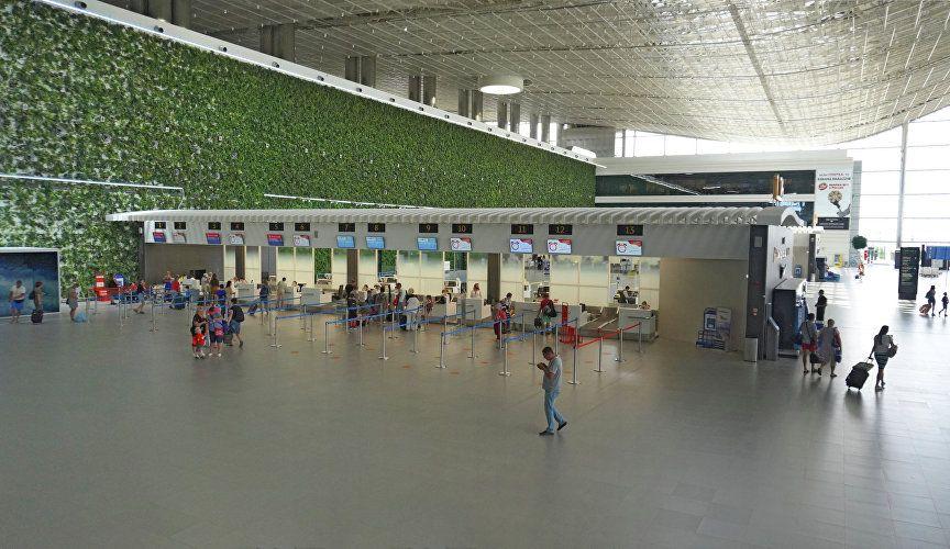 Первый в России: аэропорт Симферополь начал давать справки о статусе рейса онлайн