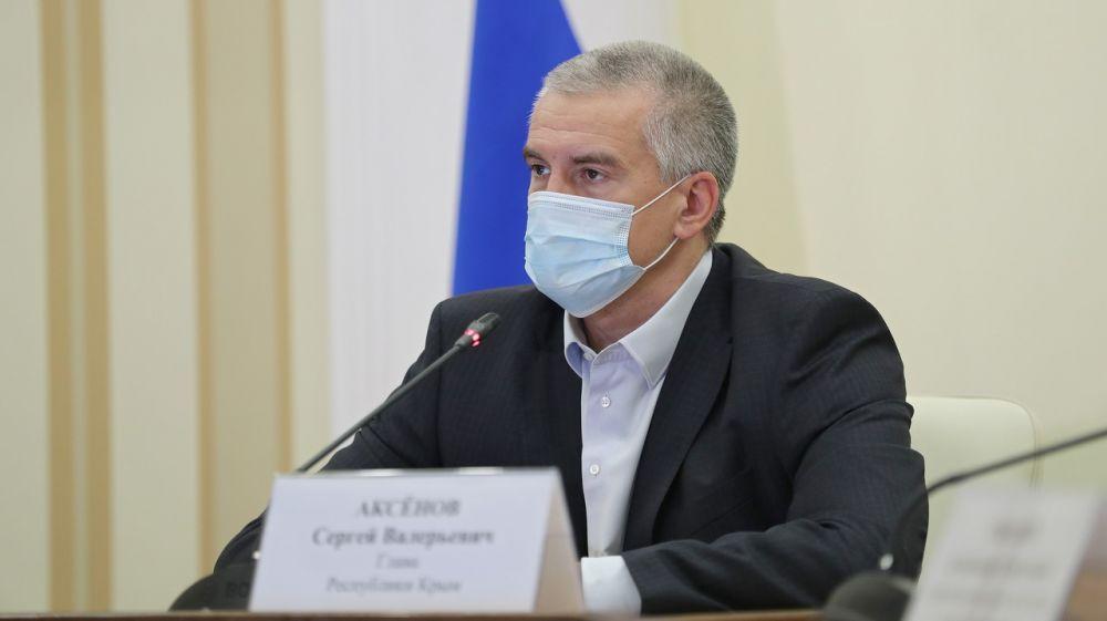 Сергей Аксёнов: Несоответствие графика работ на объектах строительства означает неэффективную работу руководителей регионов