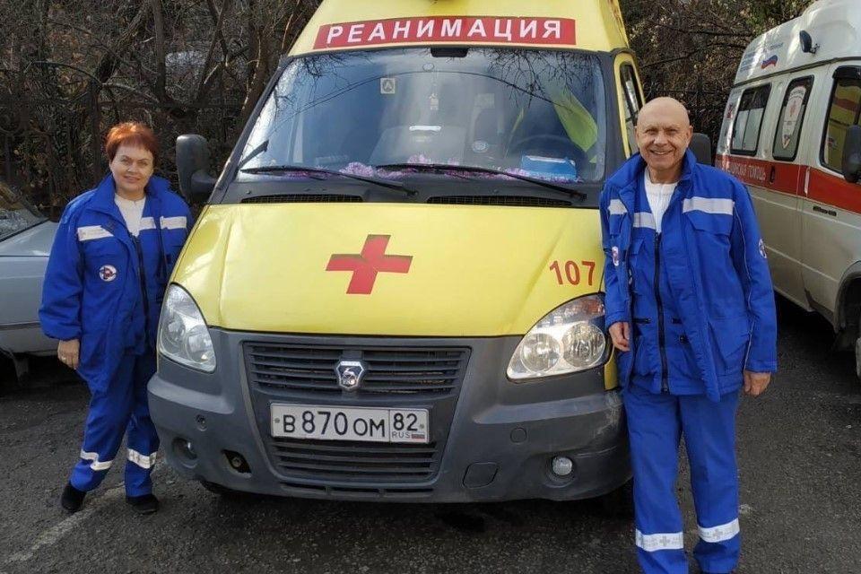 Семейная пара из Ялты уже тридцать лет спасает жизни на карете «скорой помощи»
