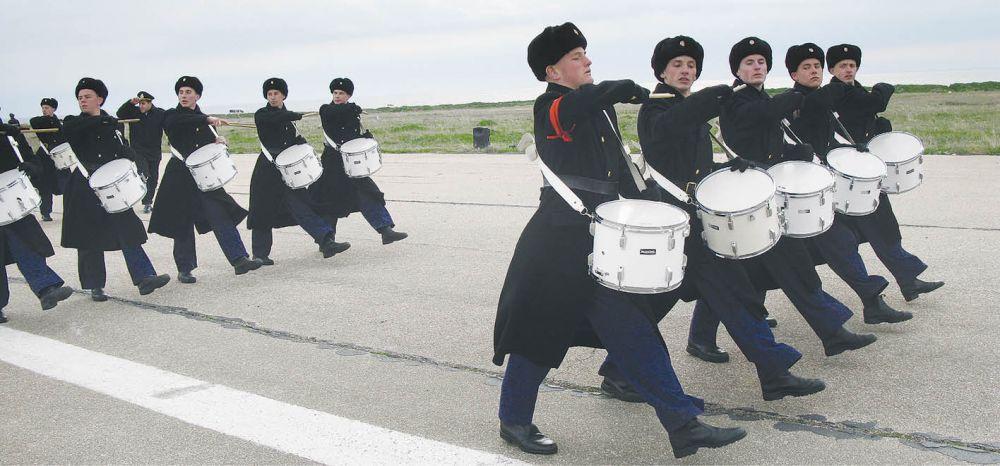 В Крыму идёт подготовка к военному параду