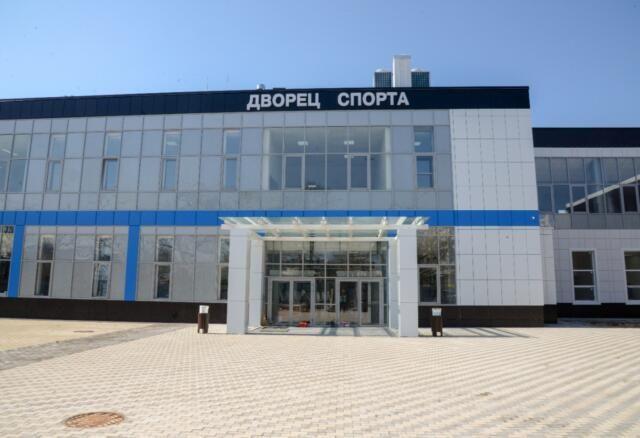 Строительство «Дворца спорта» в Евпатории вышло на финальную стадию