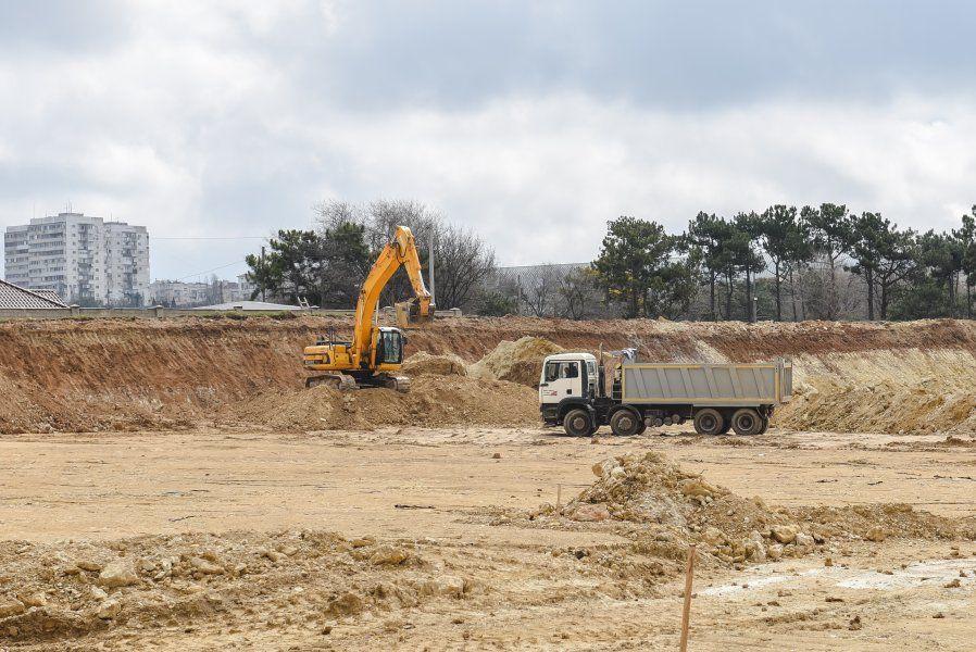 В Севастополе ведутся работы по строительству индустриального парка