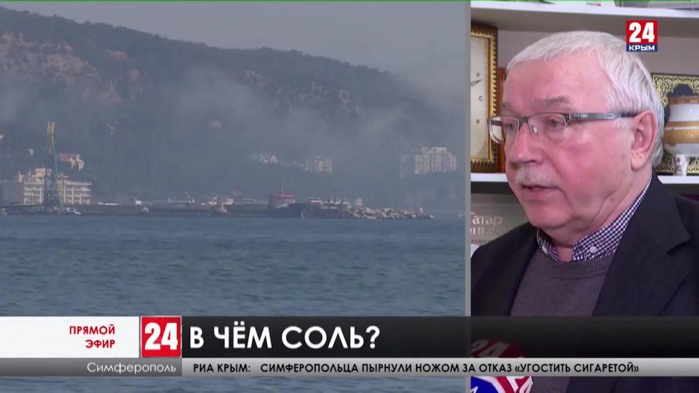 Власти Крыма совместно с учеными рассматривают варианты опреснения морской воды