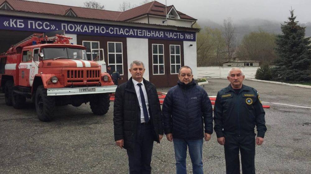 Сергей Садаклиев: В рамках обмена опытом крымские огнеборцы изучают работу коллег из других регионов.