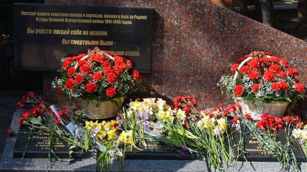 В Алуште отметили 77-ю годовщину освобождения города от немецко-фашистских захватчиков