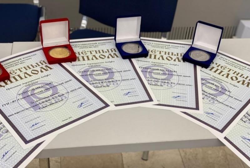 Игристые вина из Севастополя получили высшие оценки на международной выставке