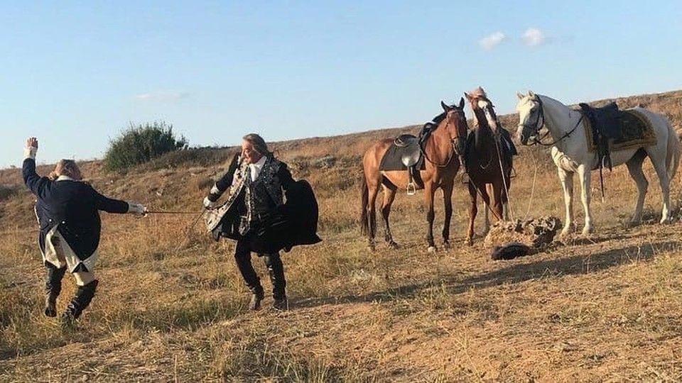 Нашли хорошего Суворова: В Крыму вот-вот начнут снимать продолжение фильма «Гардемарины, вперед!»