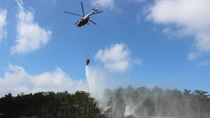 Завершился III этап командно-штабного учения: ликвидация лесного пожара и спасение пострадавших