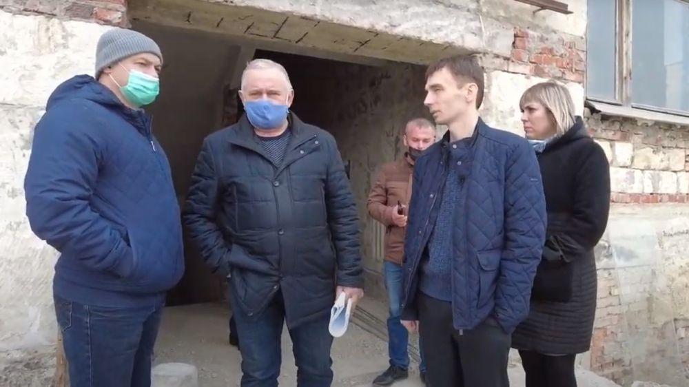 Продвигается капитальный ремонт в Полтавском Доме культуры