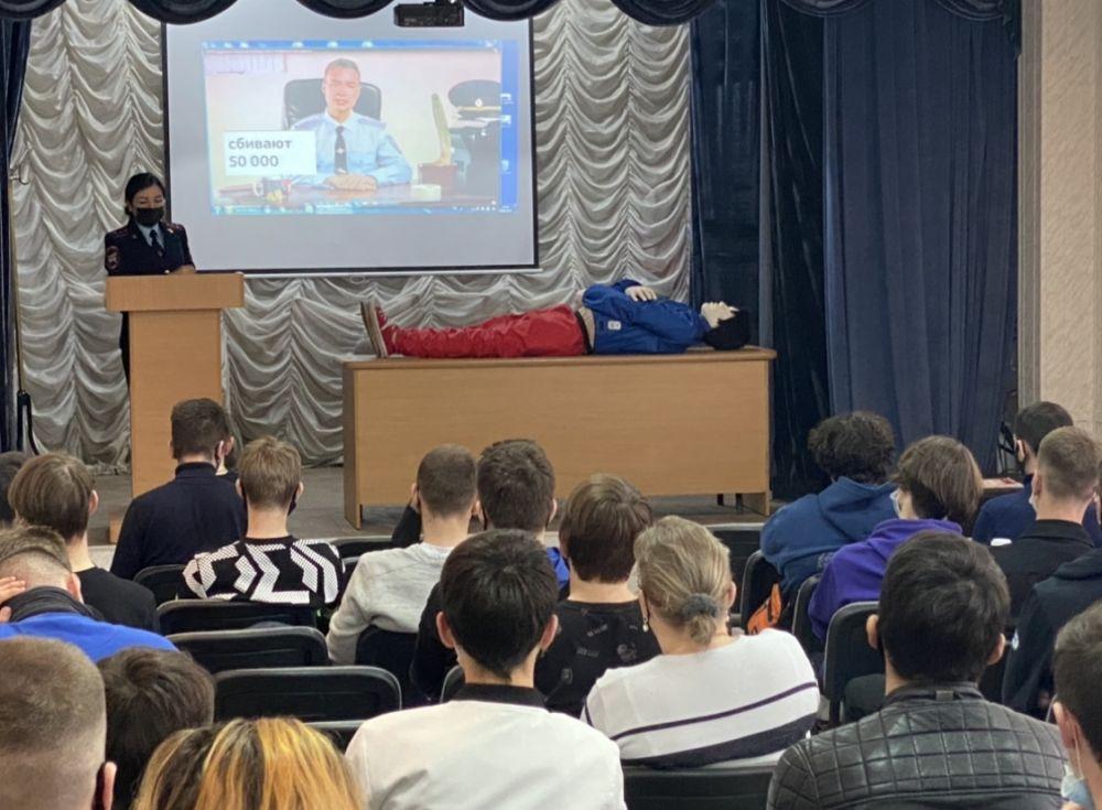 Симферопольским подросткам рассказали о последствиях безответственного поведения на дороге