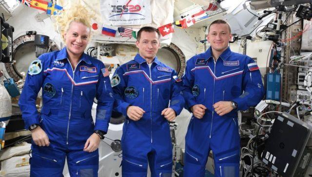 """Корабль """"Союз МС-17"""" успешно приземлился в Казахстане - видео"""