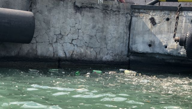 Порт Новороссийска заплатил 3,6 млн рублей за мусор в Черном море