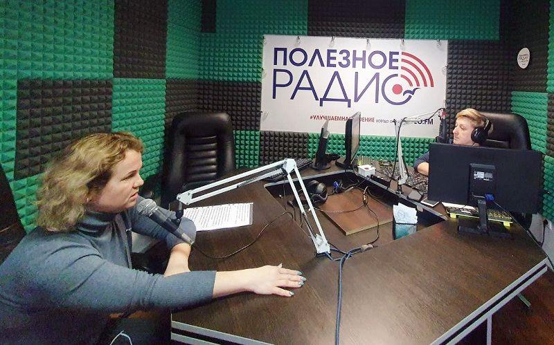 СМИ о нас: начальник следственного отдела ОМВД России по г. Феодосии выступила в прямом радиоэфире