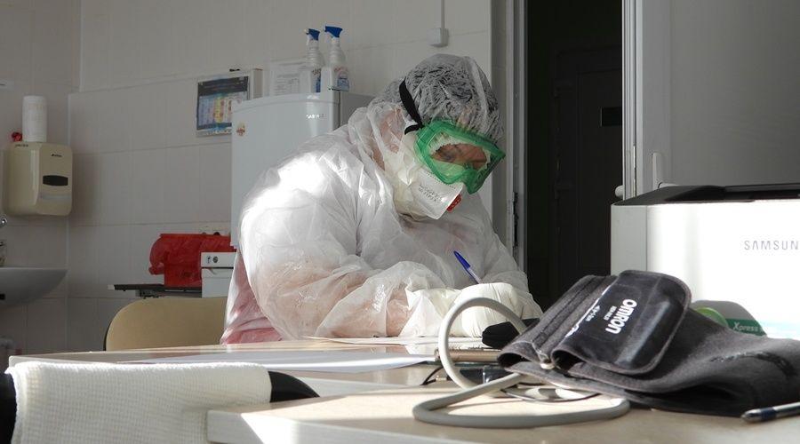 Число выявленных за сутки случаев коронавируса в Крыму снова превысило сотню