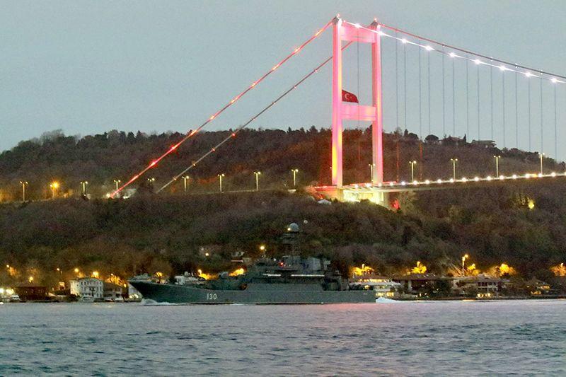 В Черное море вошли два больших десантных корабля Балтфлота