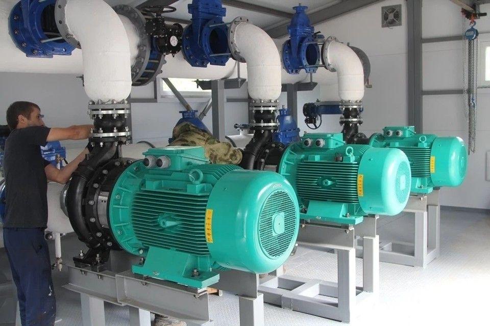 В Крыму вновь запустили насосную станцию для обеспечения водой Симферополя