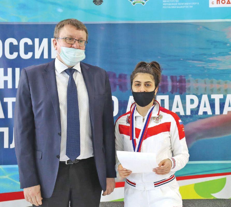 Симферопольская спортсменка вновь на вершине пьедестала