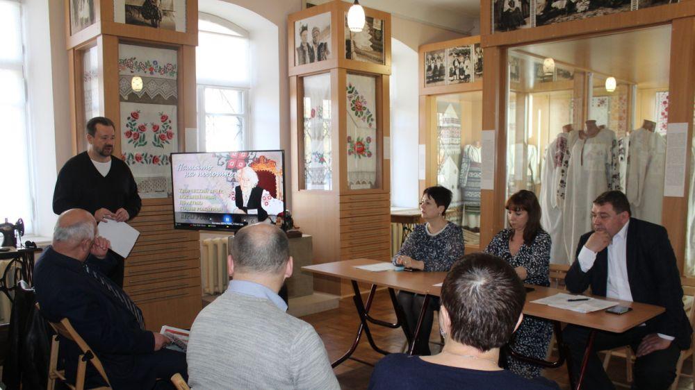Проведено заседание оргкомитета по подготовке мероприятий, посвященных 110-летию со дня рождения Веры Роик