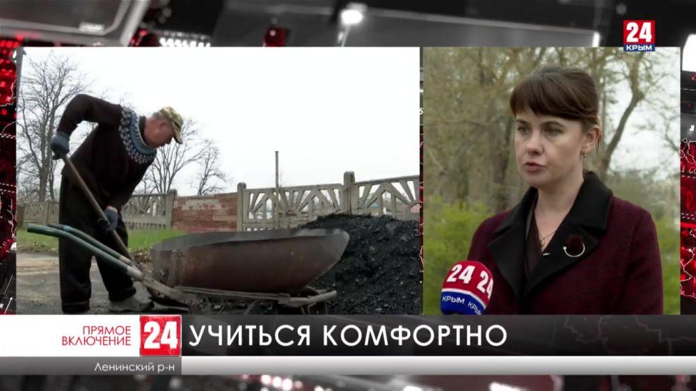 В Ленинском районе ремонтируют школы