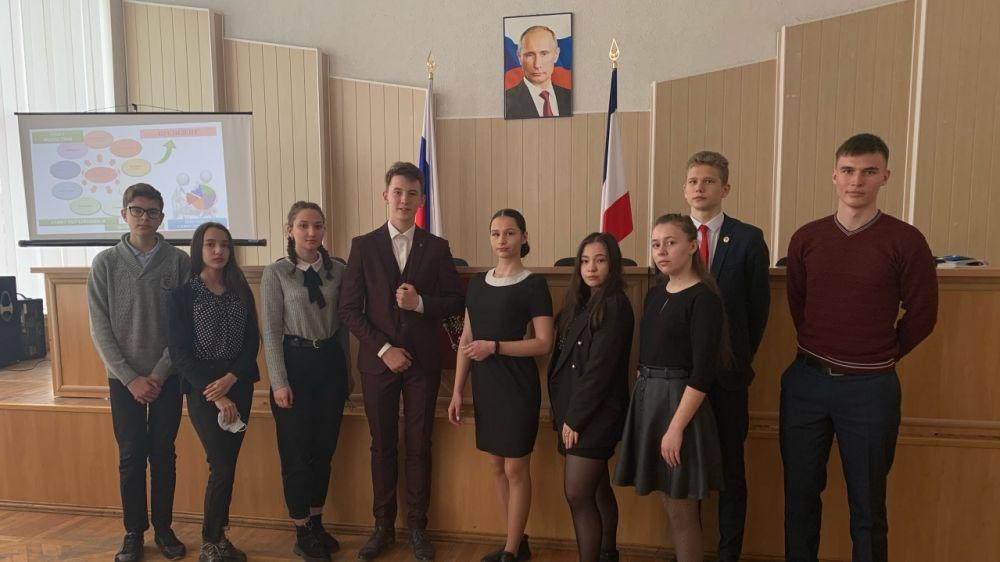 Состоялось рабочее заседание кабинета министров совета ученического самоуправления