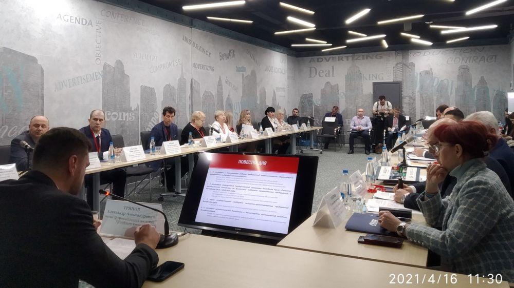 Состоялось выездное заседание коллегии Минпрома Крыма