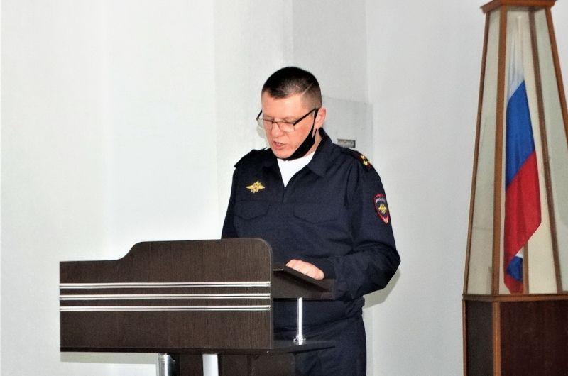 В Керчи чествовали ветеранов органов внутренних дел