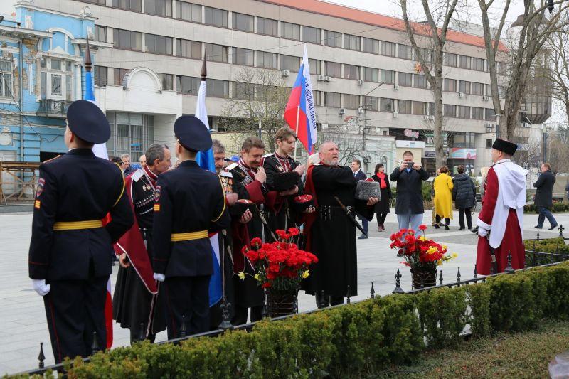 Представители МВД по Республике Крым приняли участие в праздничных мероприятиях, посвященных подписанию Манифеста Екатерины II о принятии Крыма в состав Российской империи
