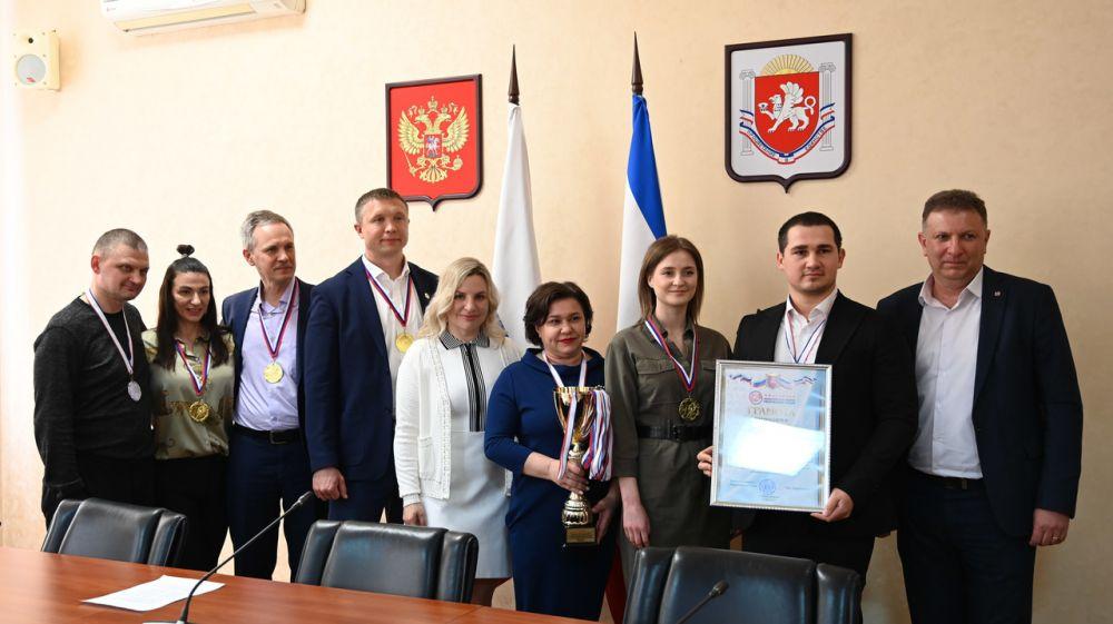 Ольга Торубарова поздравила победителей и призеров фестиваля ВФСК ГТО среди государственных служащих