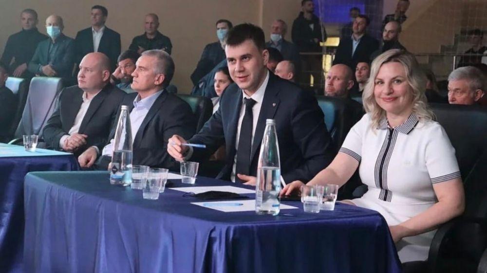 Ольга Торубарова приняла участие в открытии матчевой встречи по боксу в Симферополе