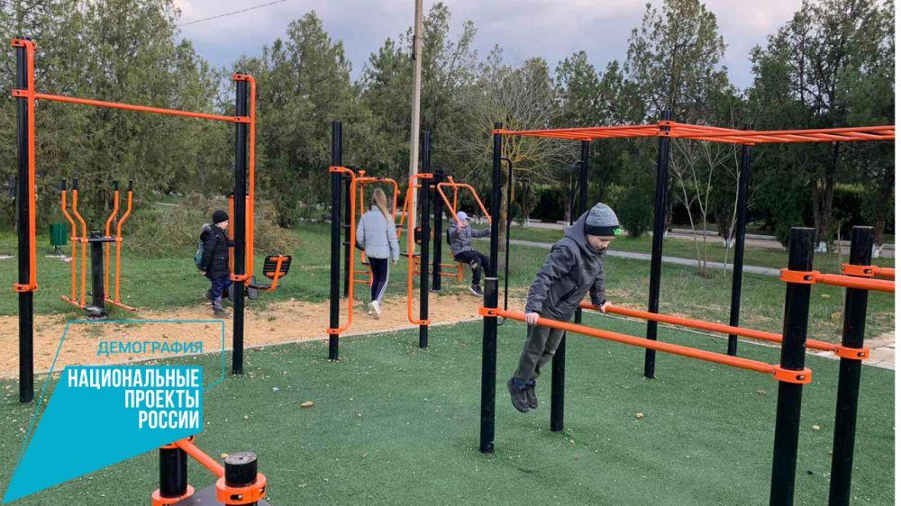 Физкультурные работы с населением продолжаются