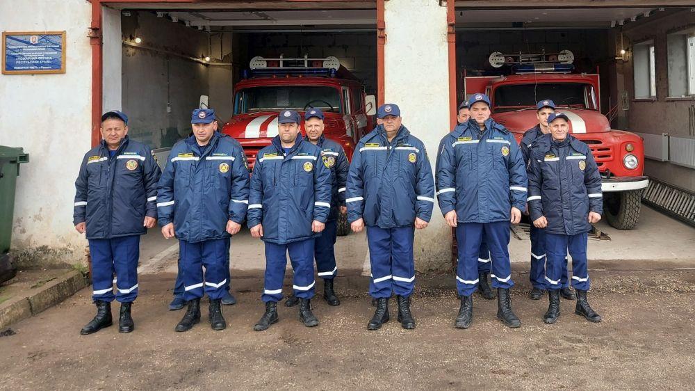 В с. Рощино (Джанкойский район) введена в боевой расчет новая пожарная часть ГКУ РК «Пожарная охрана Республики Крым»
