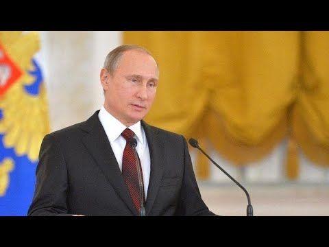 Владимир Путин выступает с ежегодным посланием Федеральному собранию (трансляция)