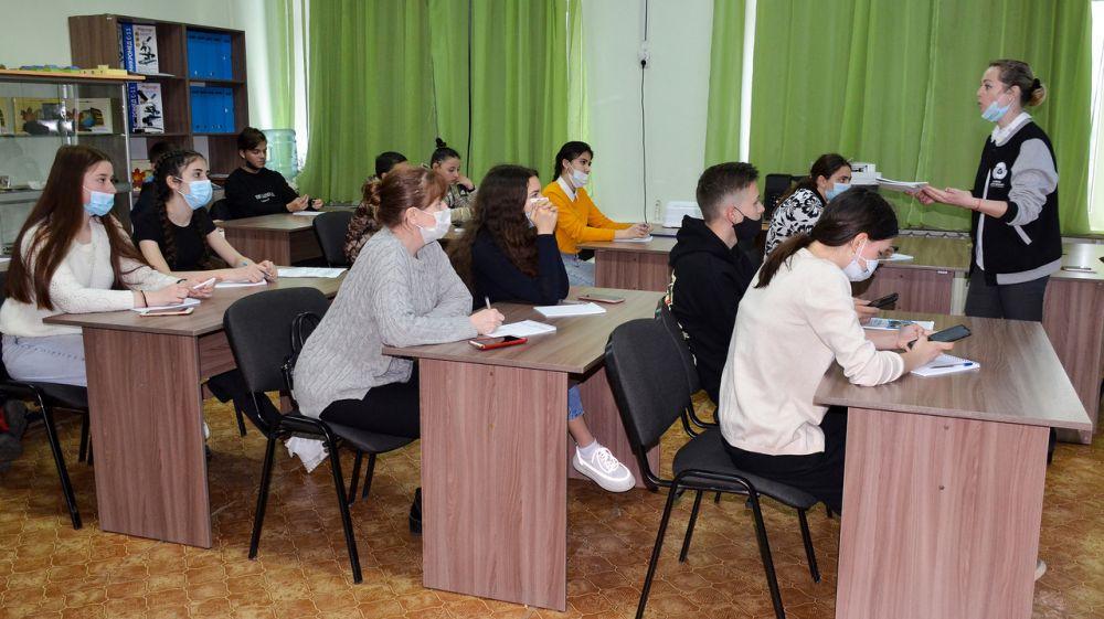 В Черноморском районе прошел тренинг для лидеров школ