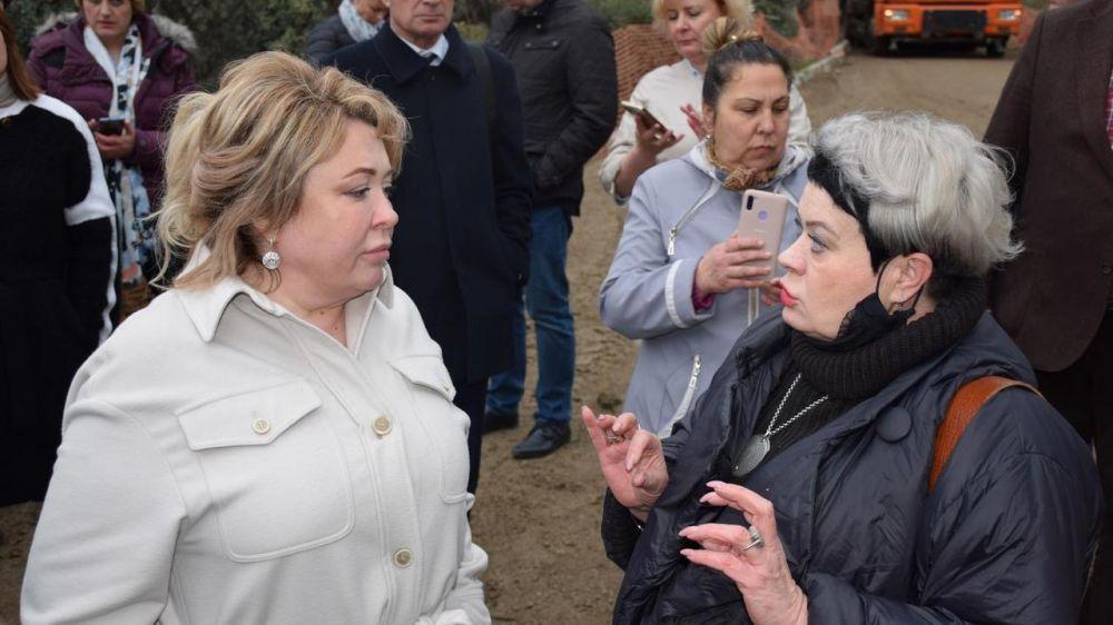 Глава администрации Ялты внепланово проверила Форосский парк на предмет устранения замечаний