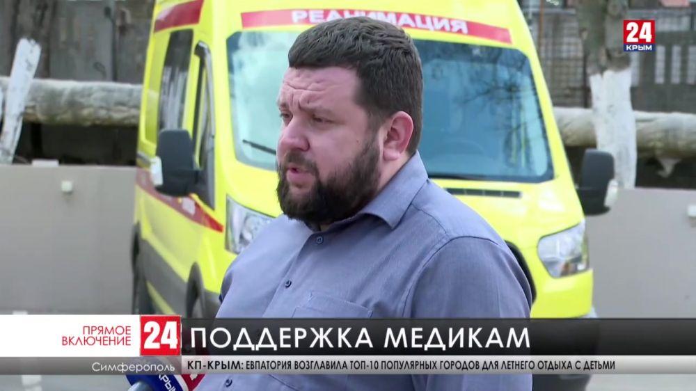 В сёла России поставят дополнительные машины скорой помощи