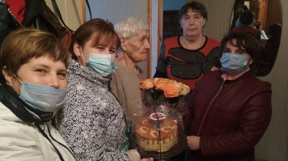 100-летний юбилей отметила участник Великой Отечественной войны, вдова инвалида Анна Антоновна Корнилова