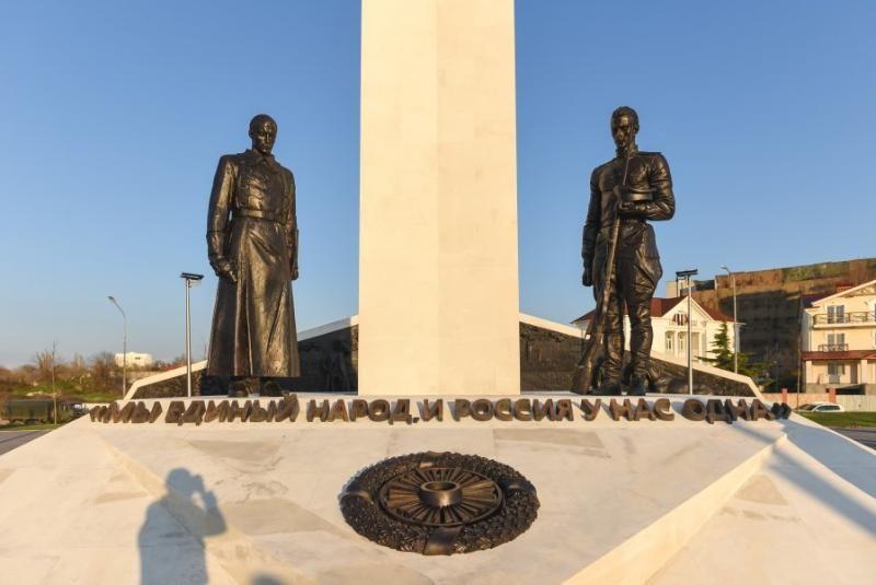 В Севастополе открыли памятник жертвам Гражданской войны в России